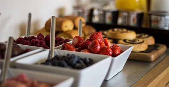 Seadrift, Self-catering, Dornie - breakfast fresh fruit