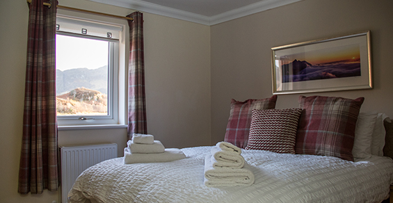 Seadrift,Self-catering, Dornie, Double room 3